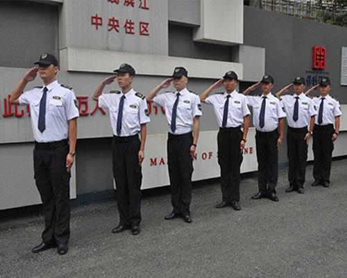 重庆小区物业保安